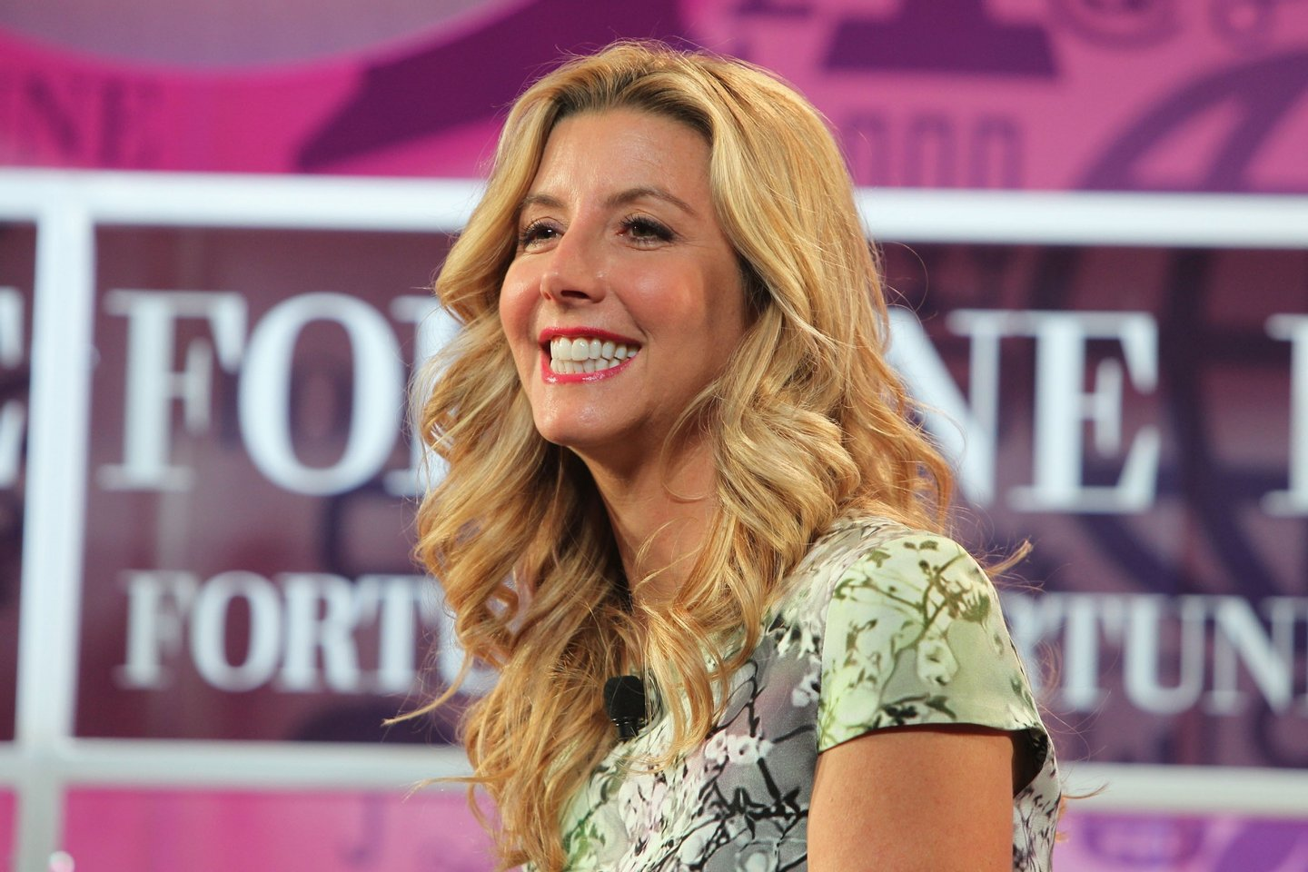 WASHINGTON, DC - OCTOBER 16: Founder of Spanx Sara Blakely speaks onstage at the FORTUNE Most Powerful Women Summit on October 16, 2013 in Washington, DC. (Photo by Paul Morigi/Getty Images for FORTUNE)