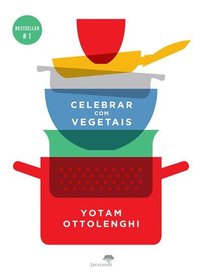 capa celebrar com vegetais