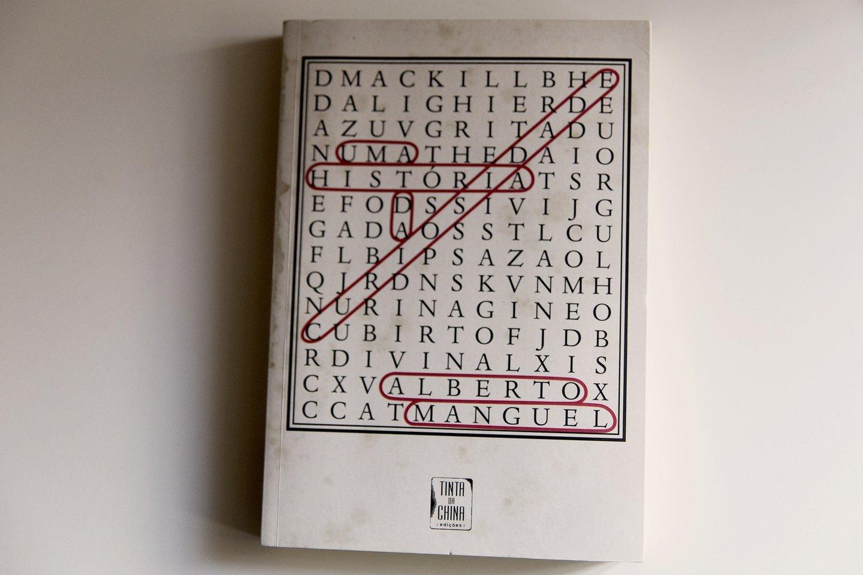 Rita Cipriano, 2015, Alberto Manguel, escritor, Uma historia da curiosidade, tinta da china