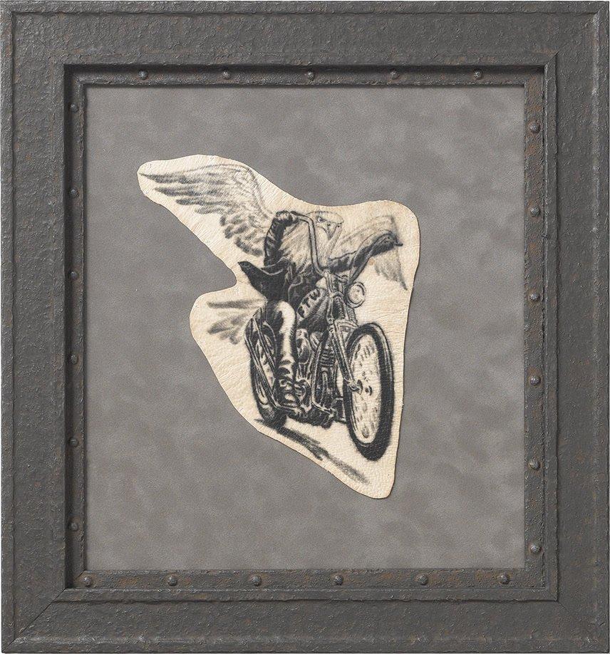 tatuagem preservada biker