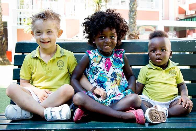 3 crianças