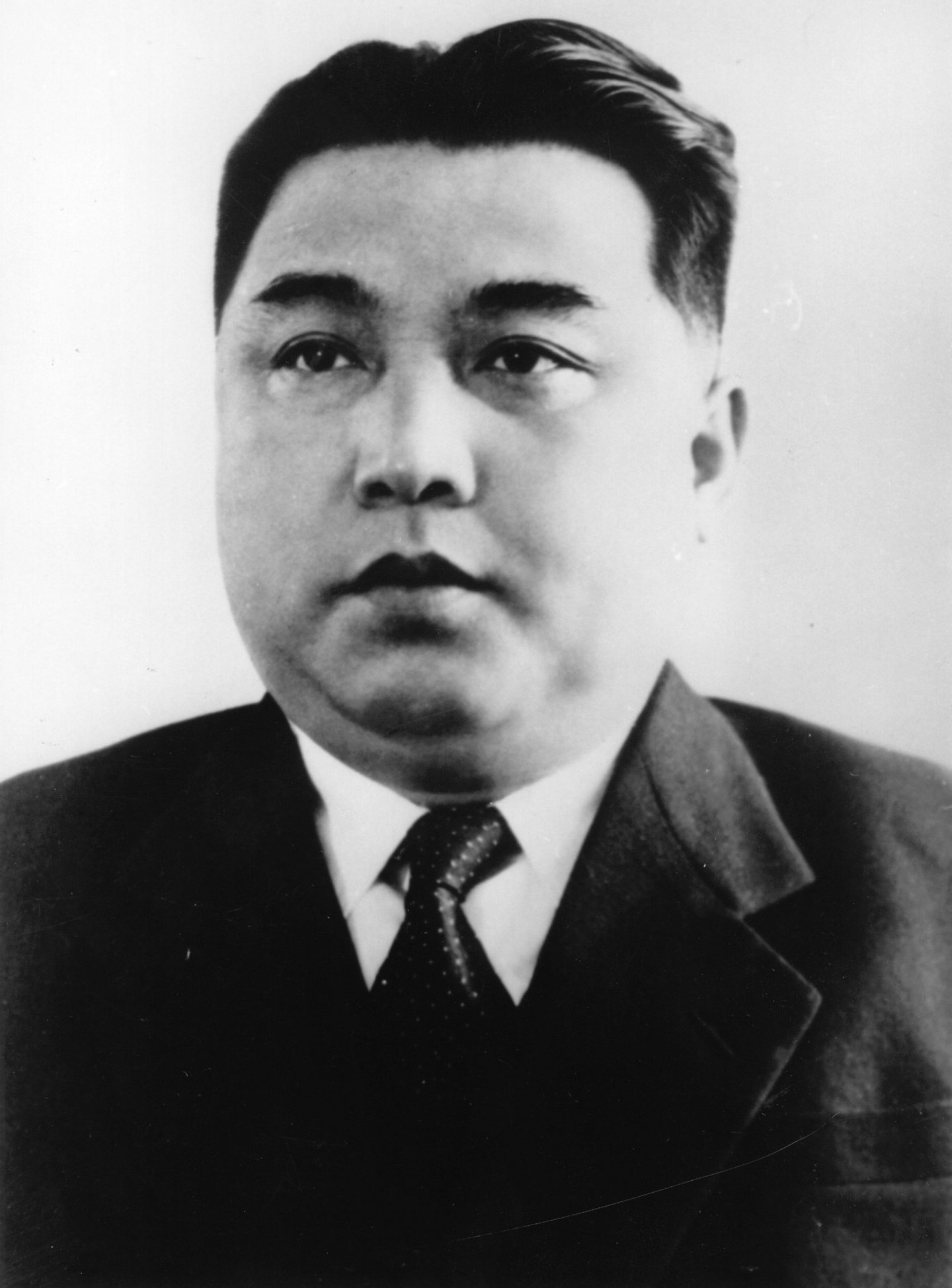 circa 1950: Kim Il Sung, Prime Minister of the Korean People's Democratic Republic and Secretary General of the Korean Workers Party. (Photo by Three Lions/Getty Images)