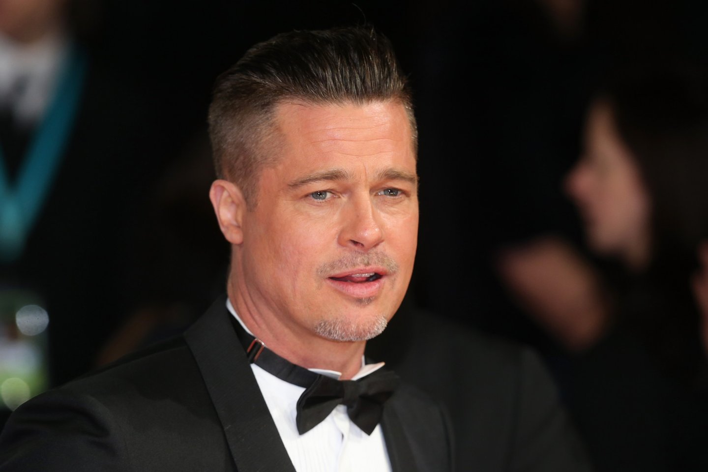 LONDON, ENGLAND - FEBRUARY 16: Actor Brad Pitt attends the EE British Academy Film Awards 2014 at The Royal Opera House on February 16, 2014 in London, England. (Photo by Chris Jackson/Getty Images)