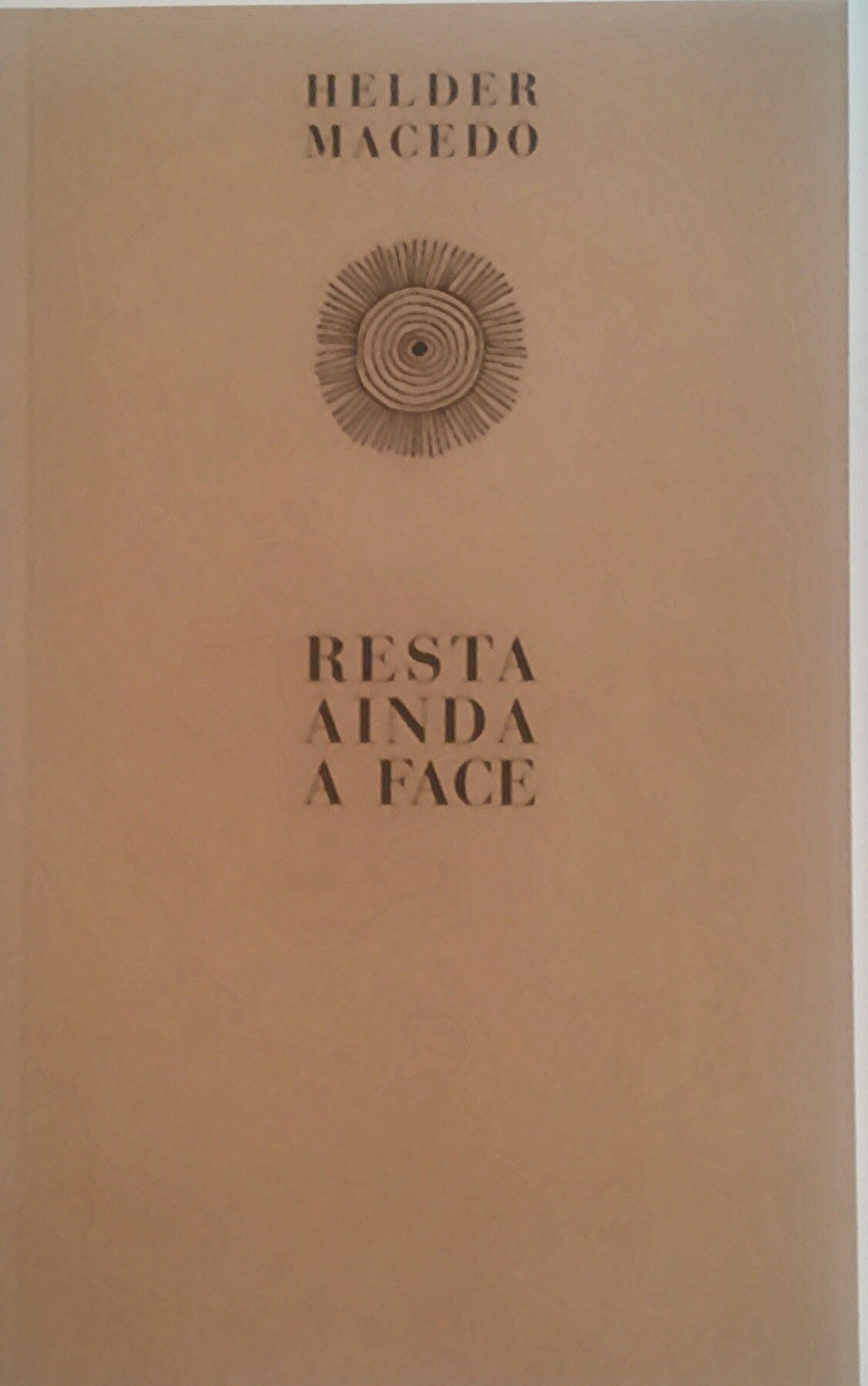 Resta ainda a Face, poemas coligidos e com posfácio de Paulo José Miranda, na Abysmo