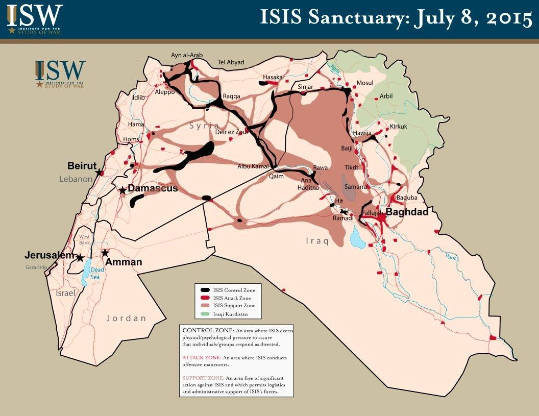 território ISIS