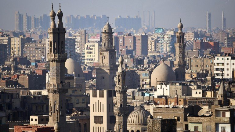 The minaret's of mosques are pictured in Cairo on November 8, 2014. AFP PHOTO / MOHAMED EL-SHAHED (Photo credit should read MOHAMED EL-SHAHED/AFP/Getty Images)