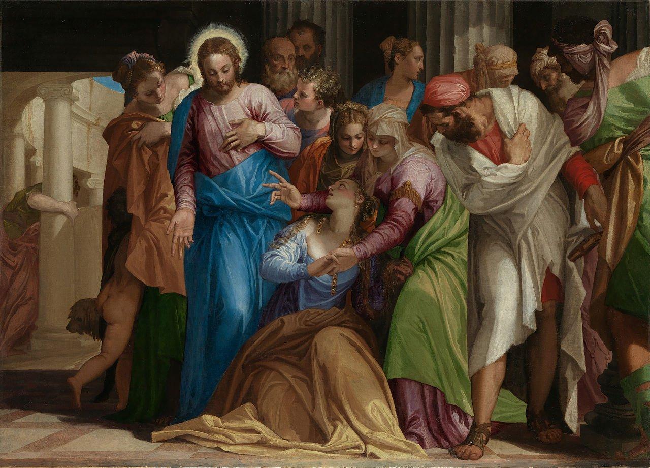 A conversão de Maria Madalena. Paolo Veronese, c. 1548