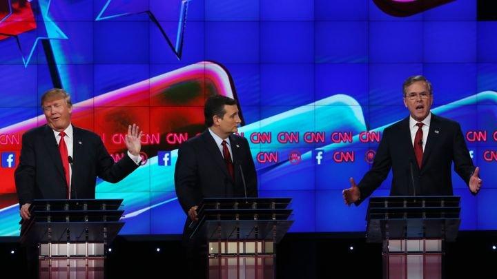 Debate republicano EUA