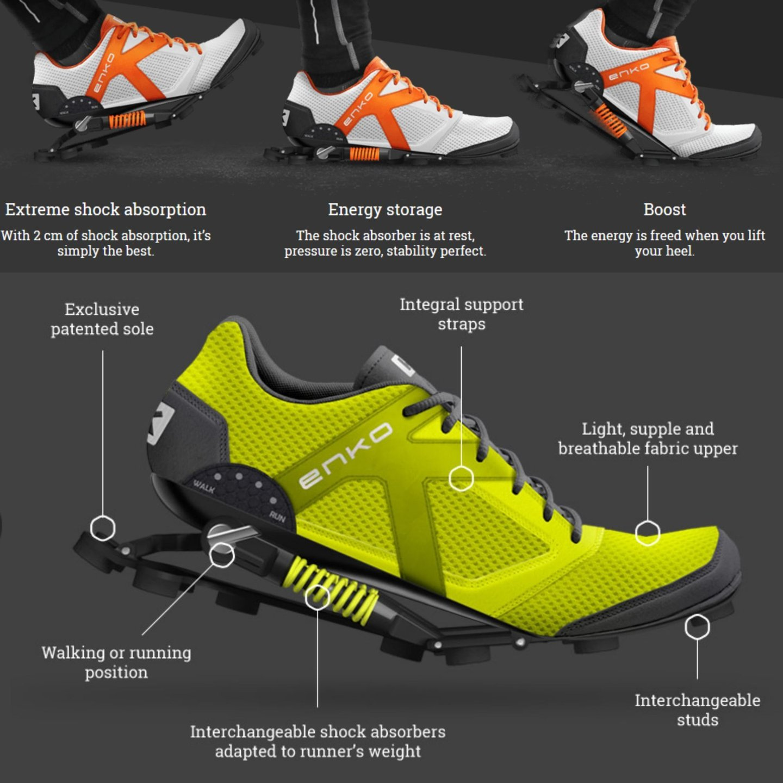 Enko Running Shoes 1