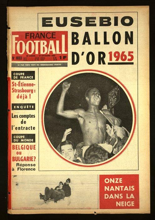 eusébio france football