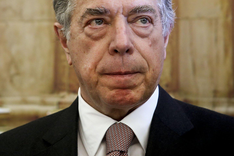 Ricardo Salgado na Comissão Parlamentar de Inquérito ao BES. MÁRIO CRUZ/LUSA