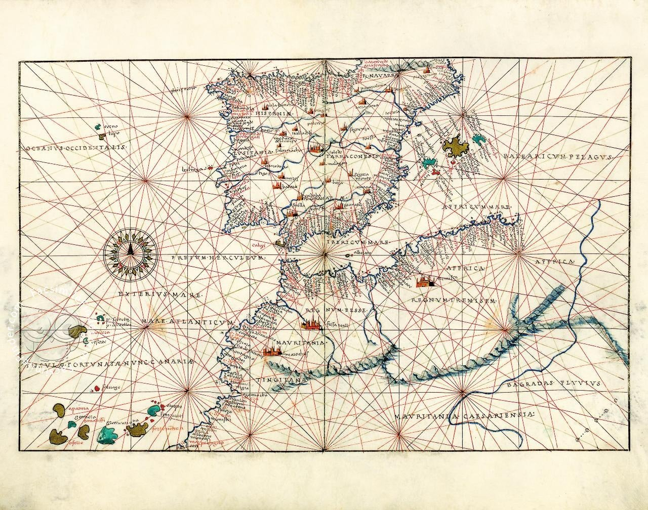 Portolan Atlas of Battista Agnese