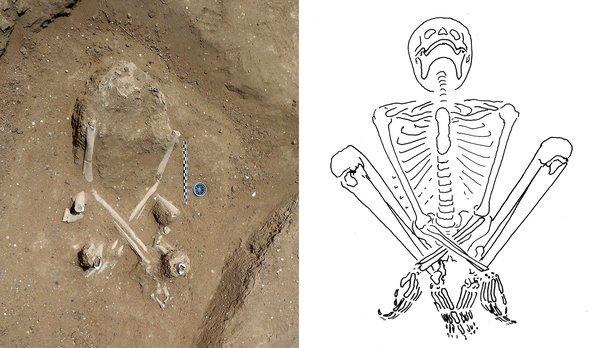 esqueleto massacre há 10 mil anos