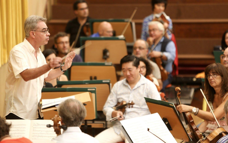 Ensaio da Orquestra Gulbenkian