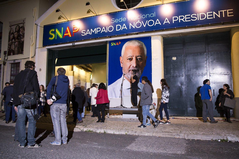 Presidenciais 2016,Sampaio da novoa, sede