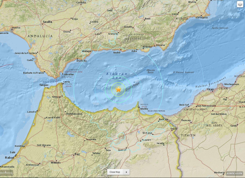terramoto espanha