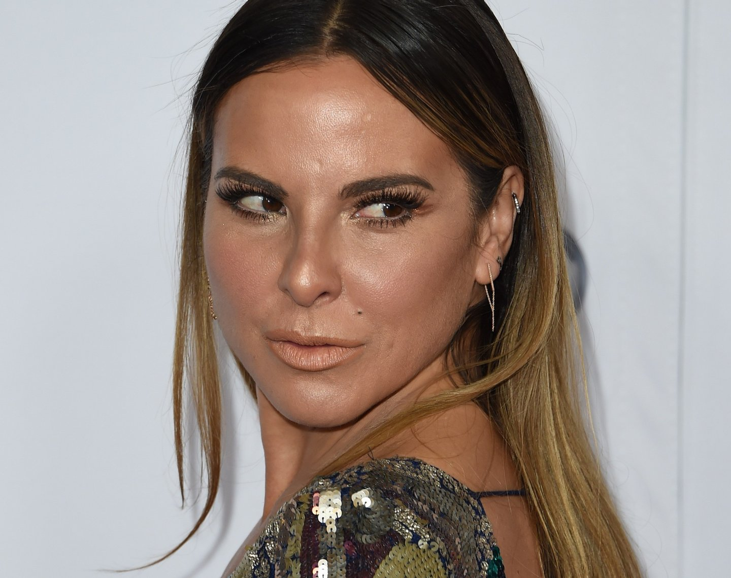 Actress Kate del Castillo arrives for the Centerpiece Gala Premiere of Alcon Entertainment's 'The 33' during AFI FEST 2015 presented by Audi at TCL Chinese Theatre in Hollywood, California on November 9, 2015. AFP PHOTO/MARK RALSTON (Photo credit should read MARK RALSTON/AFP/Getty Images)