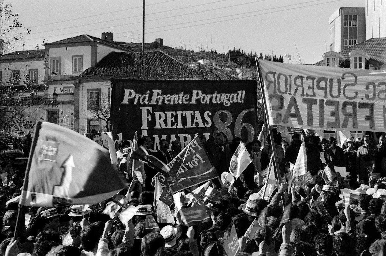 ELEICAO PRESIDENCIAL, DIOGO FREITAS DO AMARAL, Europhoto,