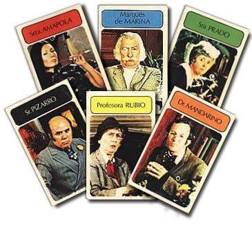 """Quem terá sido o culpado, o Dr. Mandarino ou a Señorita Amapola? Com o candelabro ou com uma... """"porra""""?"""