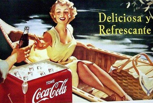 Os espanhóis bebem Coca-Cola desde 1953. A Portugal só chegou em 1977.