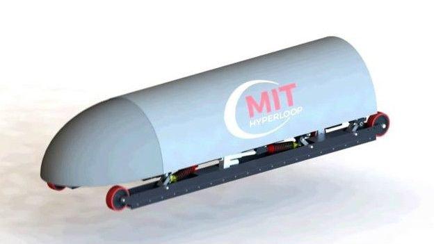 Hyperloop desenho do MIT