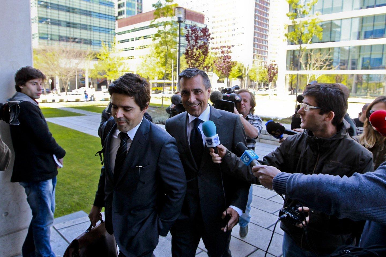 Início do julgamento de João Vieira Pinto, José Veiga, Luís Duque e Rui Meireles, acusados de alegado envolvimento em esquema de fraude fiscal na transferência do futebolista do Benfica para o Sporting