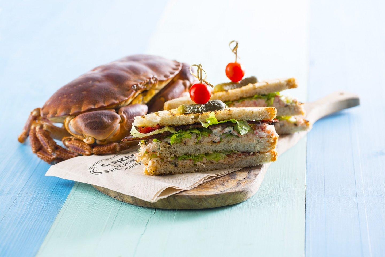 Unica sandwish de sapateira- Prego da Peixaria Alvalade