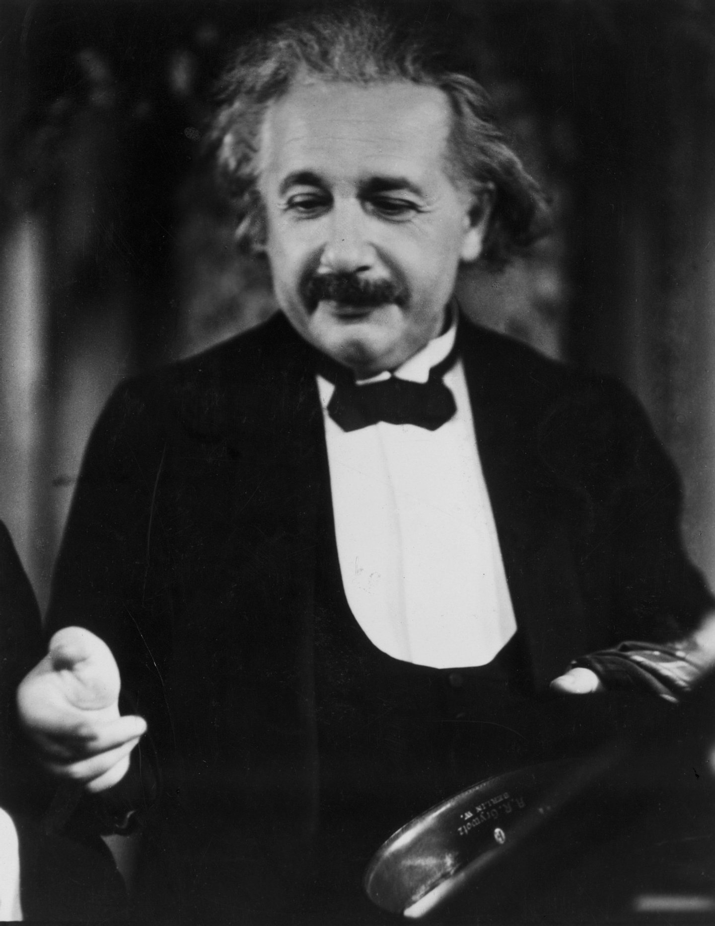 February 1931: Albert Einstein (1879-1955), German-born American physicist and Nobel laureate, best known as the creator of the special and general theories of relativity and for his bold hypothesis concerning the particle nature of light. He is perhaps the best-known scientist of the 20th century. (Photo by Sasha/Getty Images)