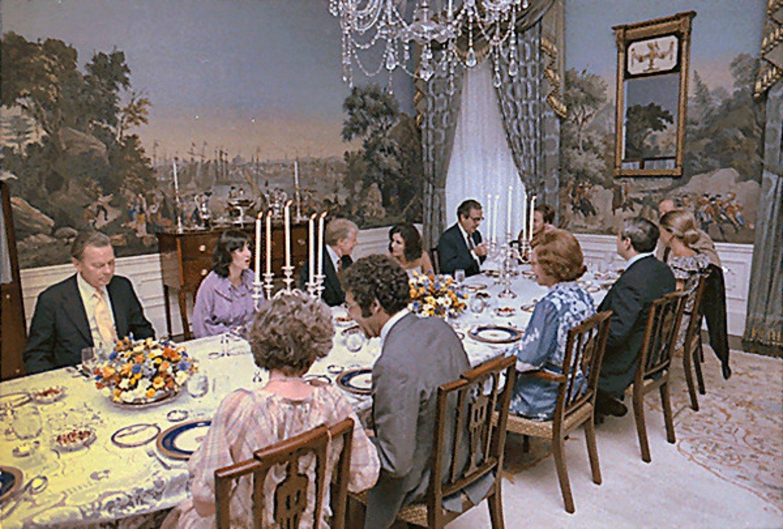 O mundo privado dos presidentes dos estados unidos for O que significa dining room em portugues