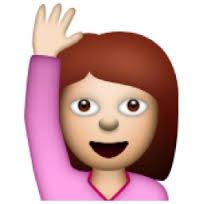 emoji girl-with-hand-up