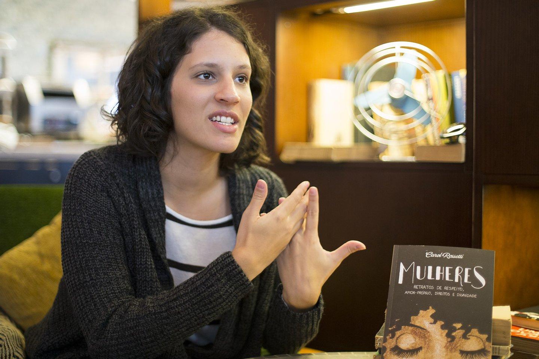 Carol Rossetti, escritora, livro, catarina marques rodrigues, 2016, feminismo,