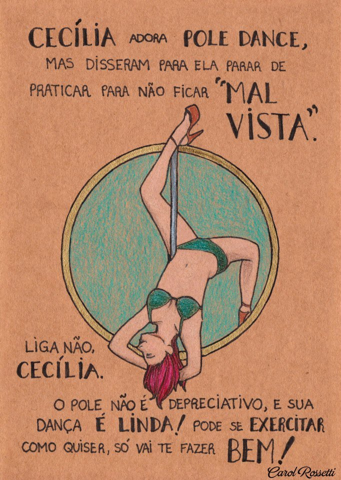 carol pole dance