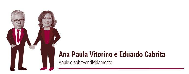 Ana Paula Vitorino e Eduardo Cabrita: Anule o sobre-endividamento