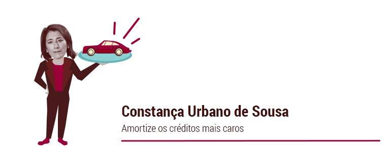 Constança Urbano de Sousa: Amortize os créditos mais caros