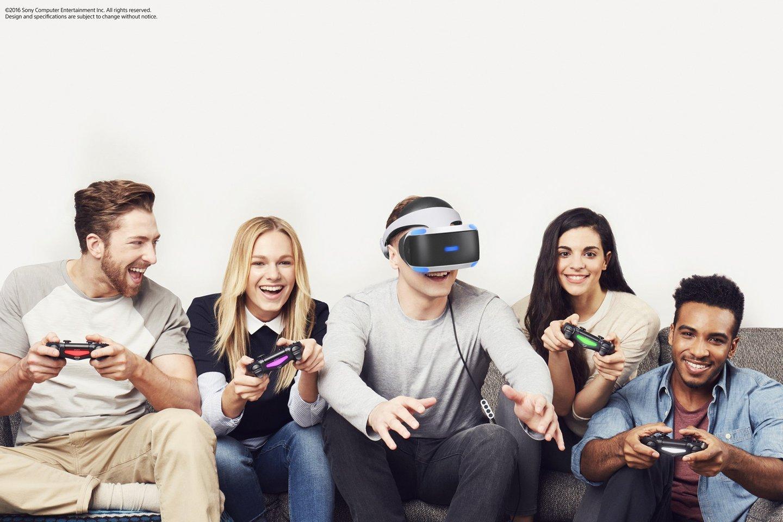 PlayStation VR 2016 realidade virtual