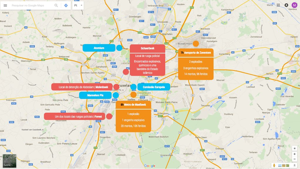 mapa bruxelas 22 março