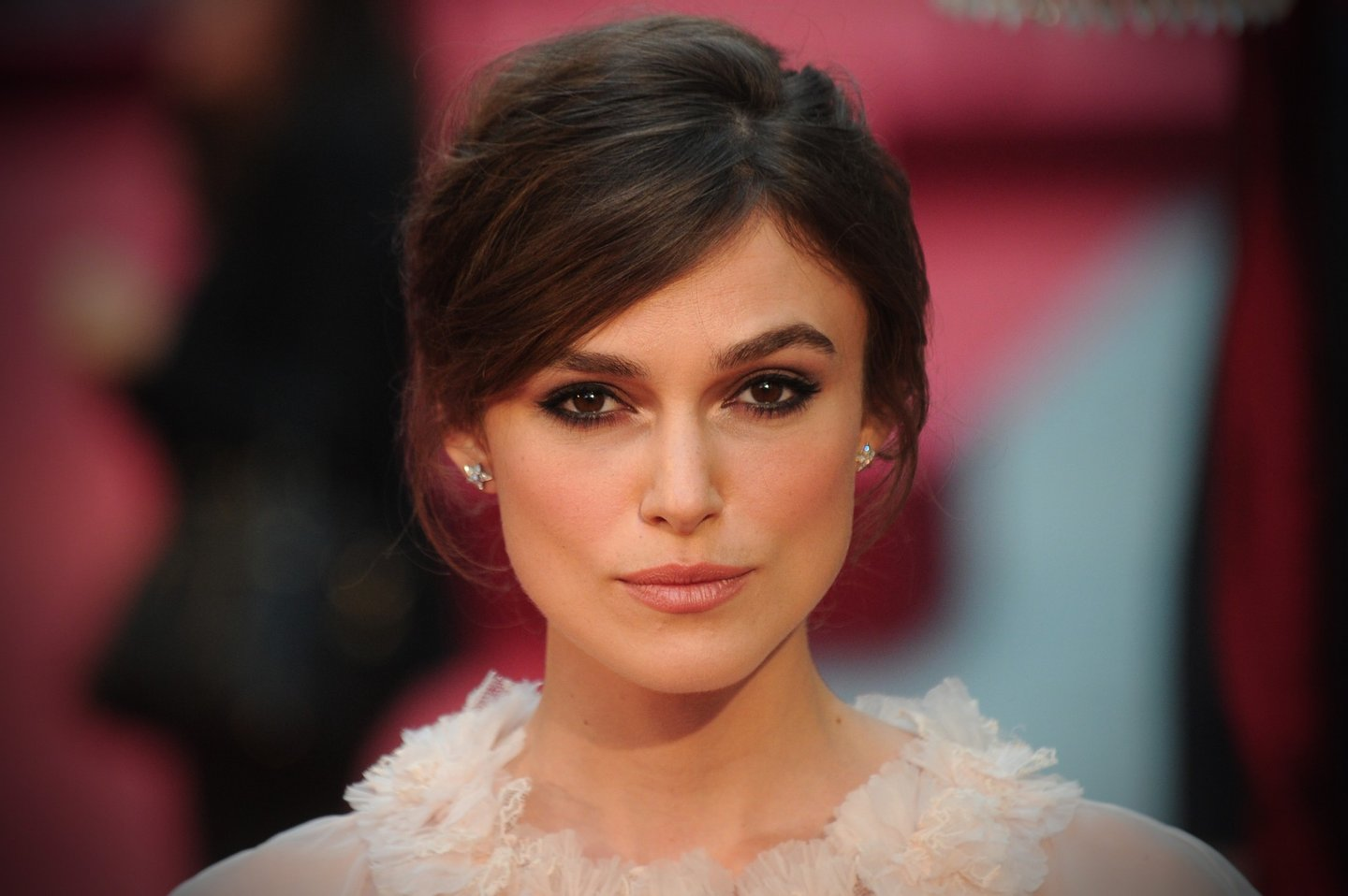 British actress Keira Knightley attends the worldwide premiere of 'Anna Karenina' in central London on September 4, 2012. AFP PHOTO/CARL COURT (Photo credit should read CARL COURT/AFP/GettyImages)