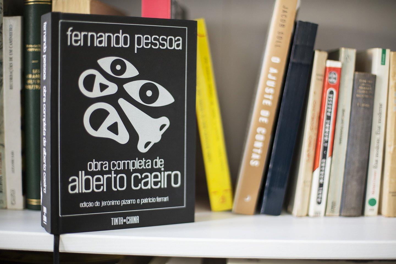 Alberto Caeiro, livro, fernando pessoa, cultura, 2016, rita cipriano, capa,