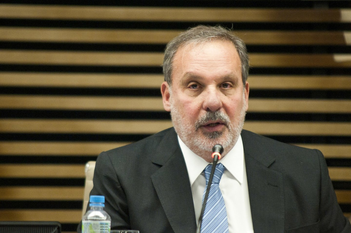 The Minister of Development, Industry and Foreign Trade, Armando Monteiro, during a meeting with the president of the Federation of S��o Paulo State Industries (Fiesp), Paulo Skaf, and former finance minister Antonio Delfim Netto, the Fiesp headquarters on Paulista Avenue on the morning of Tuesday. (Photo by Gabriel Saores /Brazil Photo Press/Pacific Press) (Photo by Pacific Press/Corbis via Getty Images)