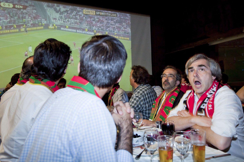 Paulo Rangel Nuno Melo jogo Benfica