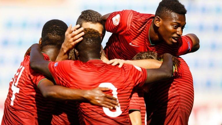 3afd8f06b9e48 Portugal vence a Espanha (6-5) nas grandes penalidades e é campeão da Europa  de Sub-17 – Observador