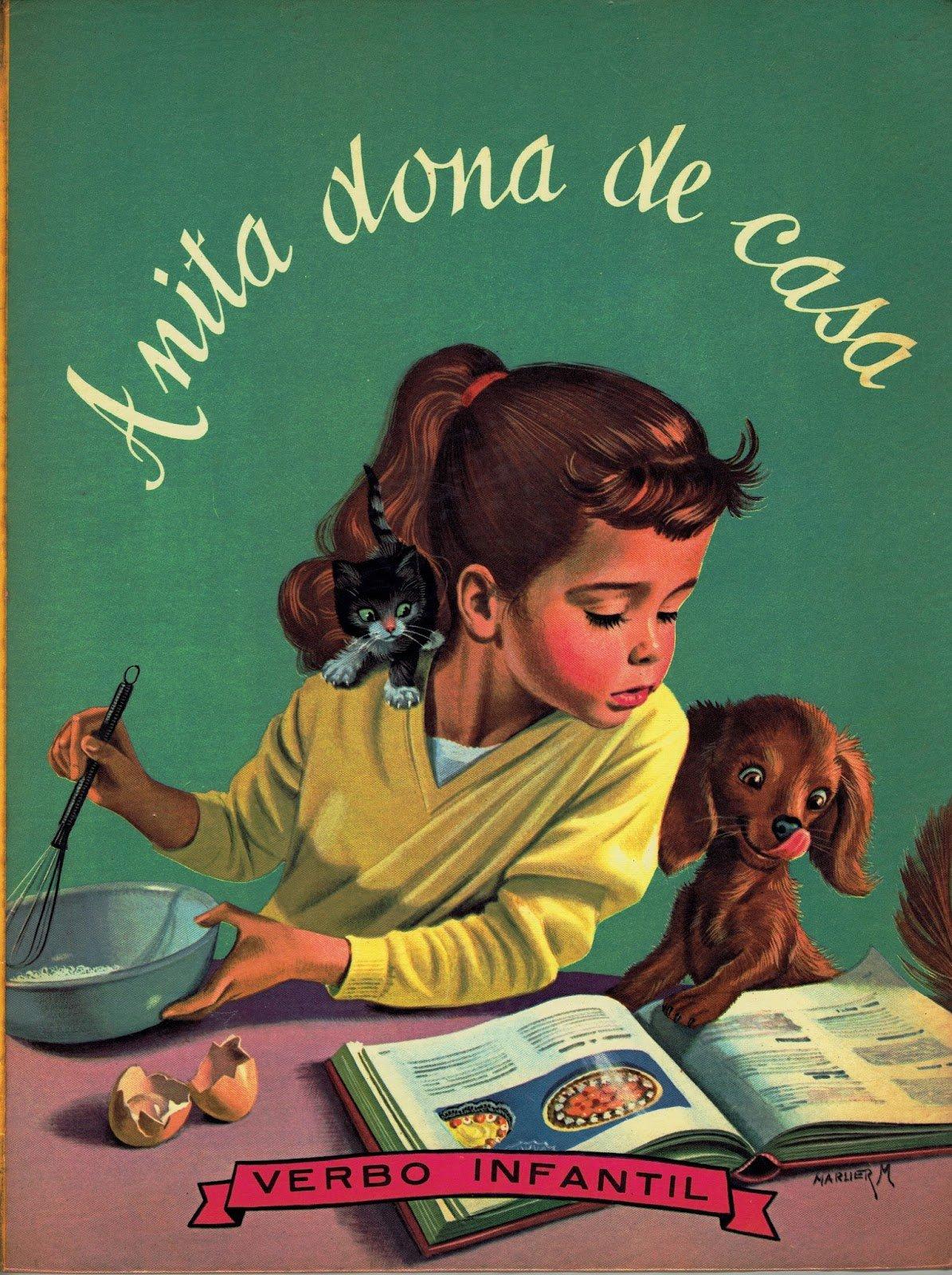 Anita dona de casa foi o primeiro livro da coleção publicado em Portugal