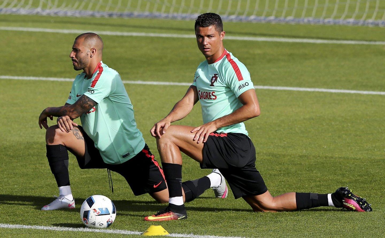 Portugal's national team training