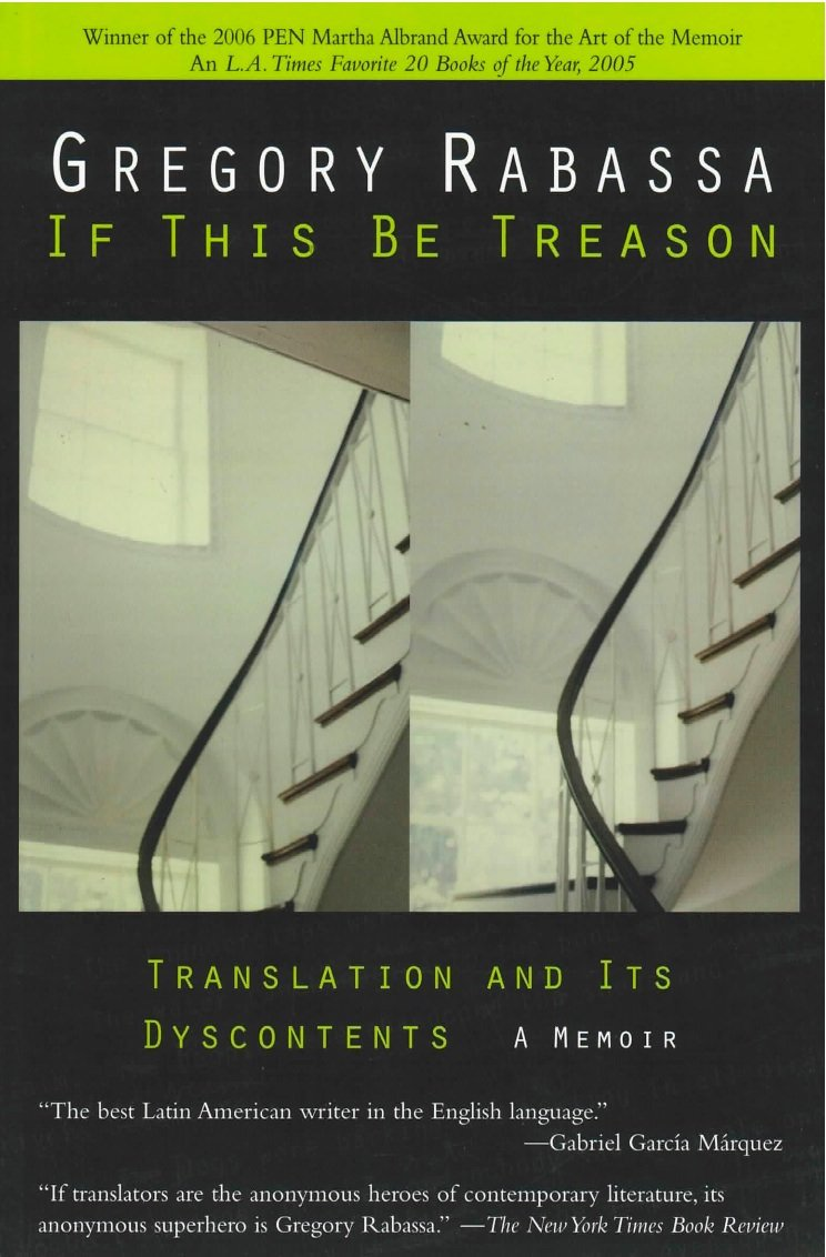 gregory rabassa If_This_Be_Treason