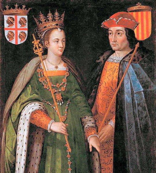 Petronilla de Aragão e Ramon Berenguer IV, Conde de Barcelona, cujo casamento, em 1150, uniu os destinos de Aragão e do Condado de Barcelona