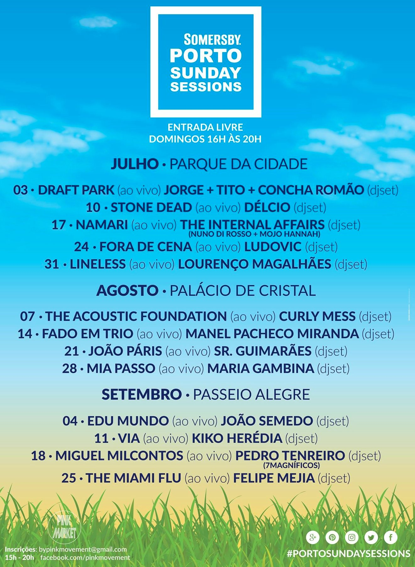 porto sunday sessions cartaz 2016