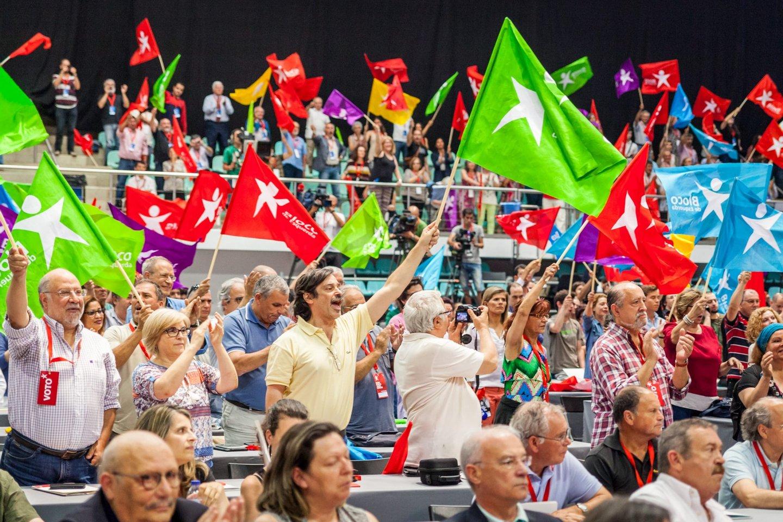 congresso, convenção, bloco de esquerda, BE,