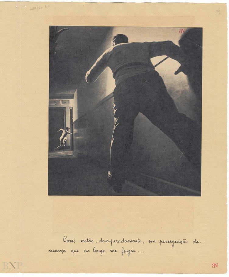 """Pas pour les parents"": Poema-colagem de Mário Henrique Leiria"