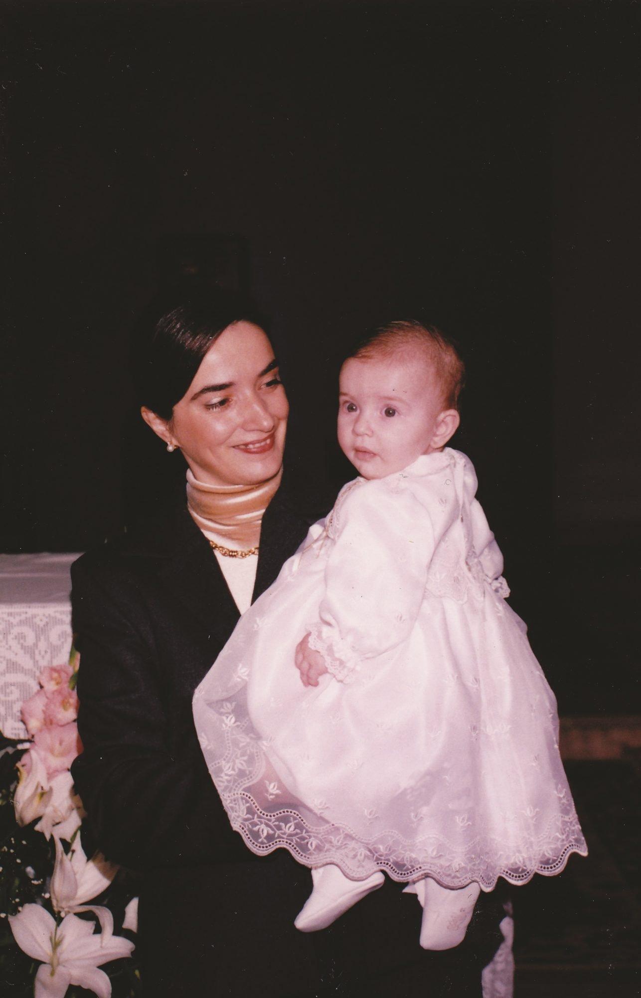 Num dia do batizado da filha, por pouco não conseguia calçar os sapatos