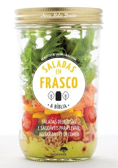capa saladas em frasco